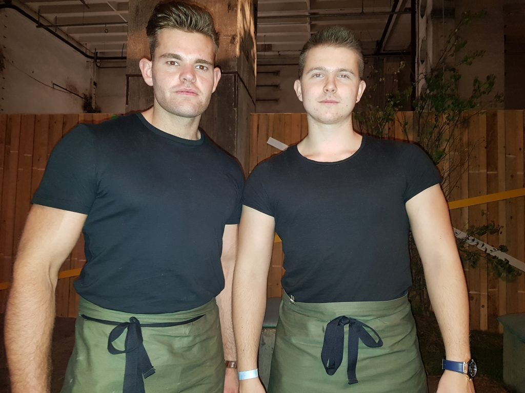 London-waiters brand ambassadors